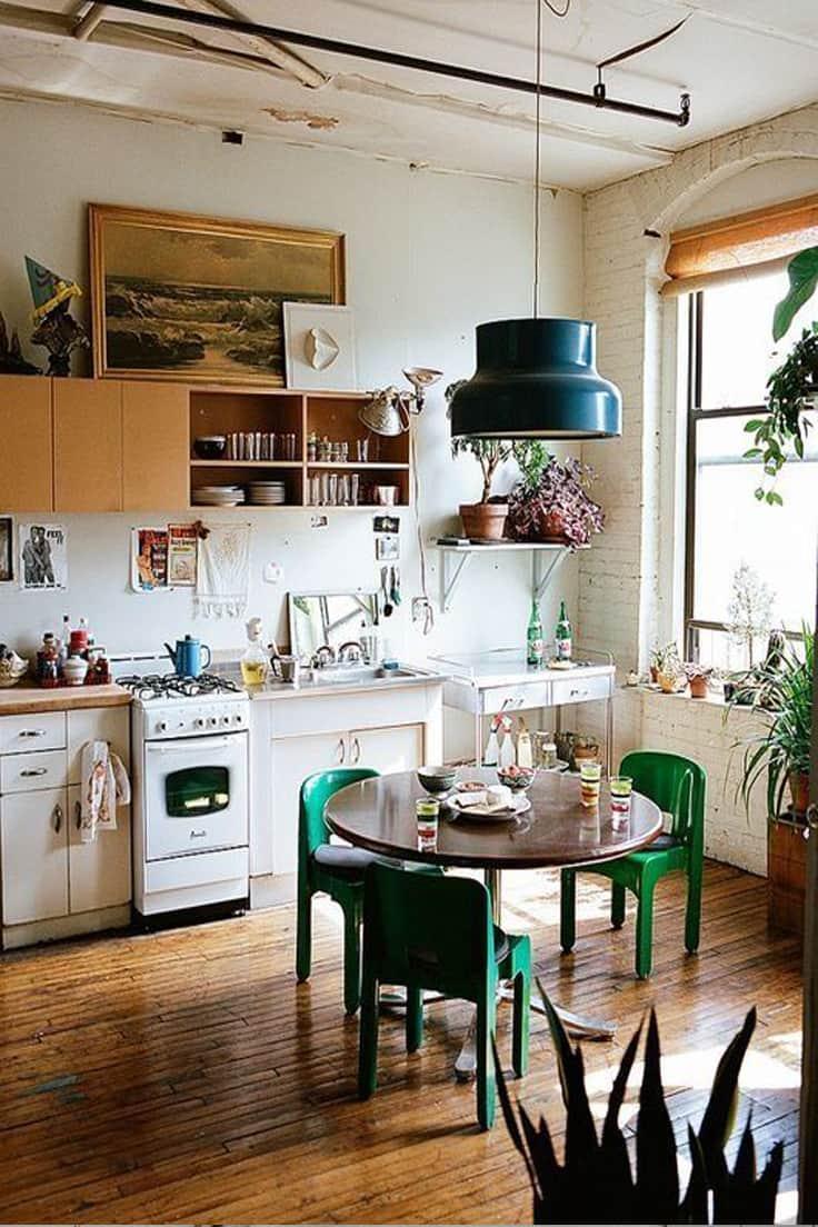 iluminacao-na-cozinha-dicas-pendente-verde-refletor