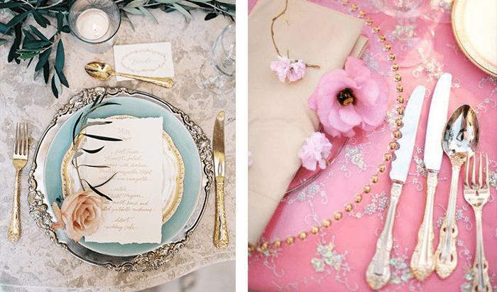 mesa-romantica-vintage-pratos
