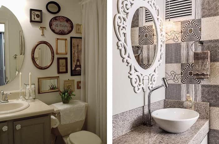 Decoração-de-banheiro-espelhos