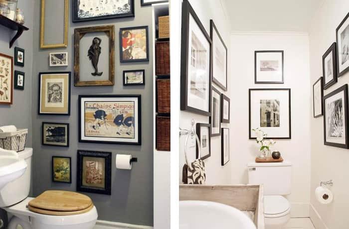 Decoração-de-banheiro-quadros