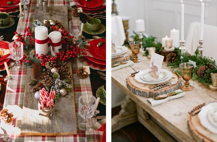 Mesas-decoradas-para-o-natal-rustica