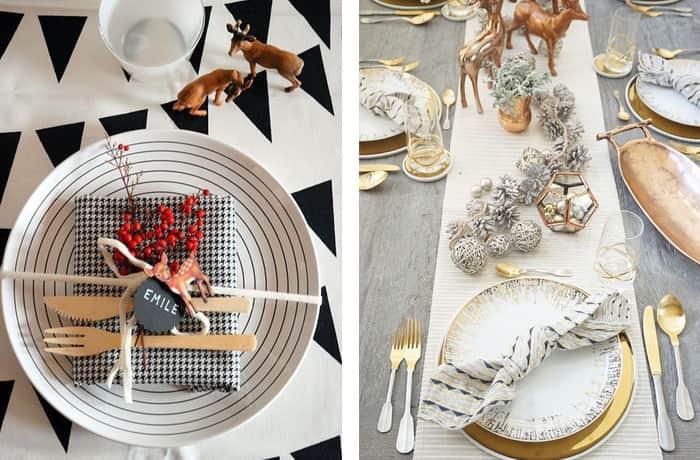 Mesas-decoradas-para-o-natal-moderna